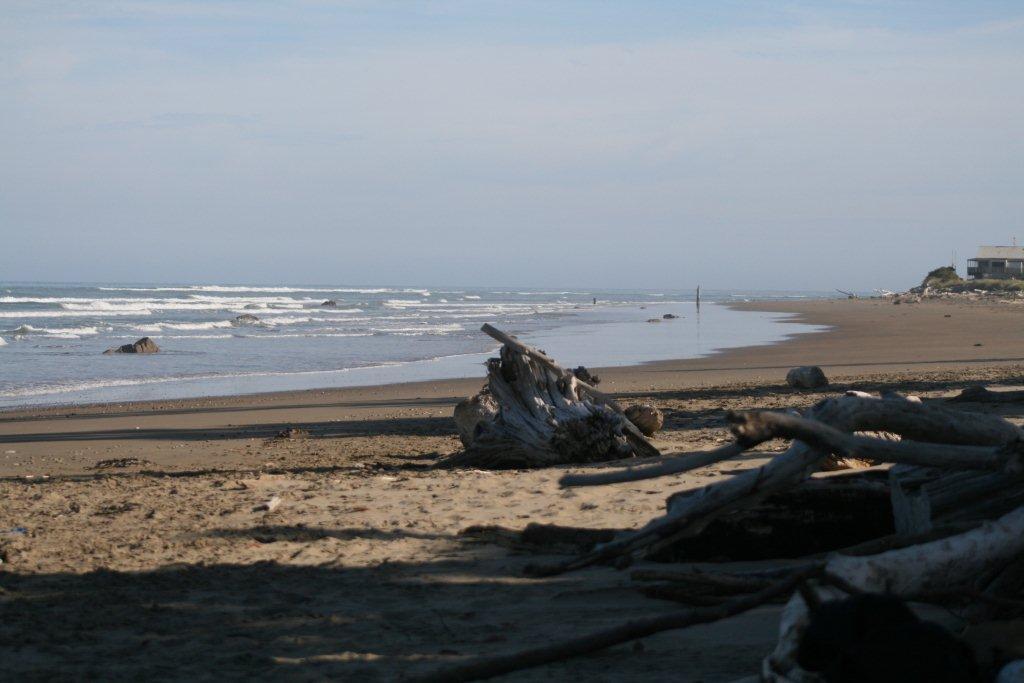 Akitio Beach Looking South